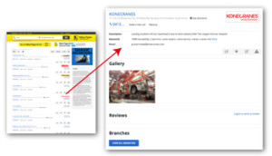 Web Listing – YELLOWPAGES
